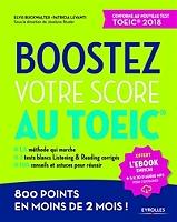 ... 3 tests blancs Listening   Reading corrigés, 100 conseils et astuces  pour réussir, 800 points en moins de 2 mois   conforme au nouveau test  TOEIC 2018 8aefb889f5fa