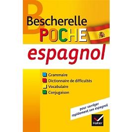 Espagnol, poche : grammaire, dictionnaire de difficultés, vocabulaire, conjugaison