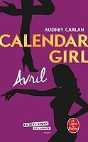 Calendar girl de Audrey Carlan - Broché