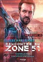 Rencontre en zone 51 : escape game de Coline Pignat - Broché