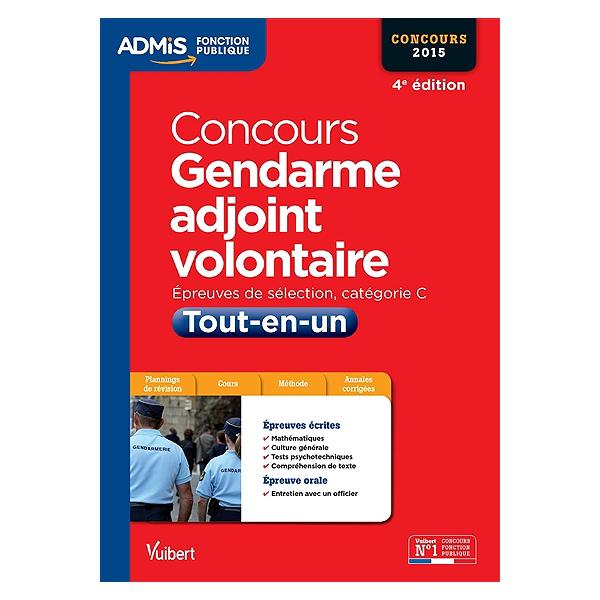 17b3ae6022f Concours gendarme adjoint volontaire   épreuves écrites et orale ...