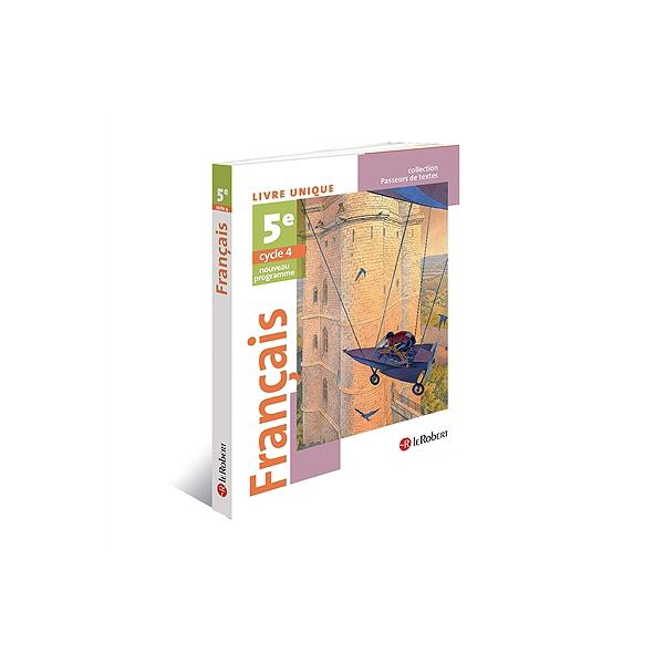 Francais 5e Cycle 4 Livre Unique Nouveau Programme