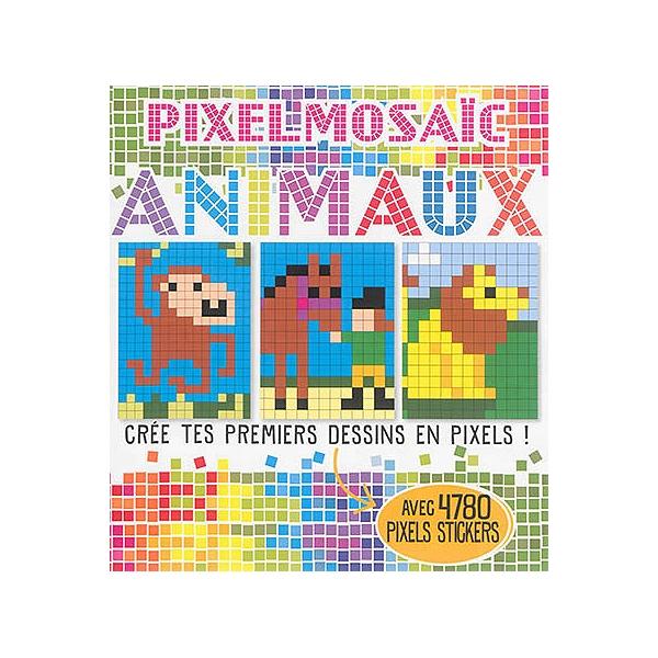 Pixelmosaïc Animaux Crée Tes Premiers Dessins En Pixels Avec 4780 Pixels Stickers