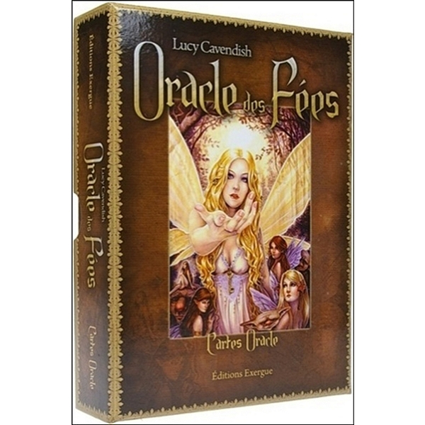 Lucy Cavendish Exergue ORACLE DES FÉES 47 Cartes ORACLE Livre 224 pages