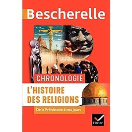 Chronologie : l'histoire des religions : de la préhistoire à nos jours