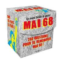 Mai 68 : 240 questions pour se remémorer cette année mythique ! - Coffret