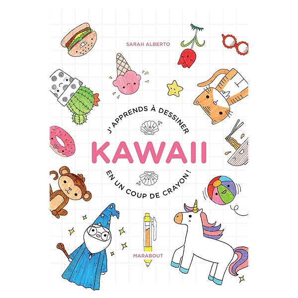 J Apprends A Dessiner Kawaii En Un Coup De Crayon 100 Sujets