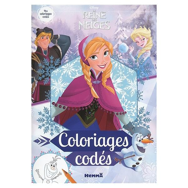 Coloriage Walt Disney Reine Des Neiges.La Reine Des Neiges Coloriages Codes Coloriages Codes Walt
