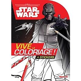 Star Wars : voyage vers Star Wars, l'ascension de Skywalker : vive le coloriage ! + stickers