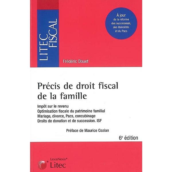 Precis De Droit Fiscal De La Famille Impot Sur Le Revenu