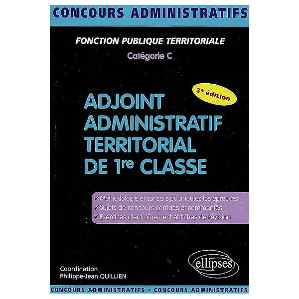 6c977f4a251 Adjoint administratif territorial de 1re classe   fonction publique ...
