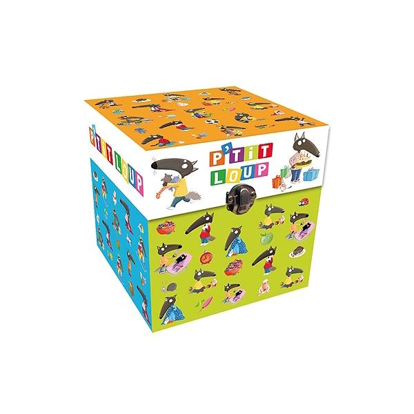 Coffret Bibliothèque Cube Ptit Loup Ptit Loup Naime Que Les