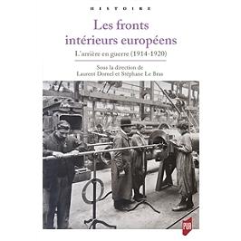 Fronts intérieurs européens : l'arrière en guerre, 1914-1920