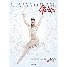 Clara Morgane : geisha : calendrier 2020