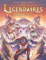 Les Légendaires : origines de Patrick Sobral - Cartonné