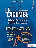 le-lacombe-precis-danatomie-et-de-physiologie-humaines-texte-atlas