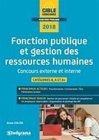Fonction Publique Et Gestion Des Ressources Humaines Concours