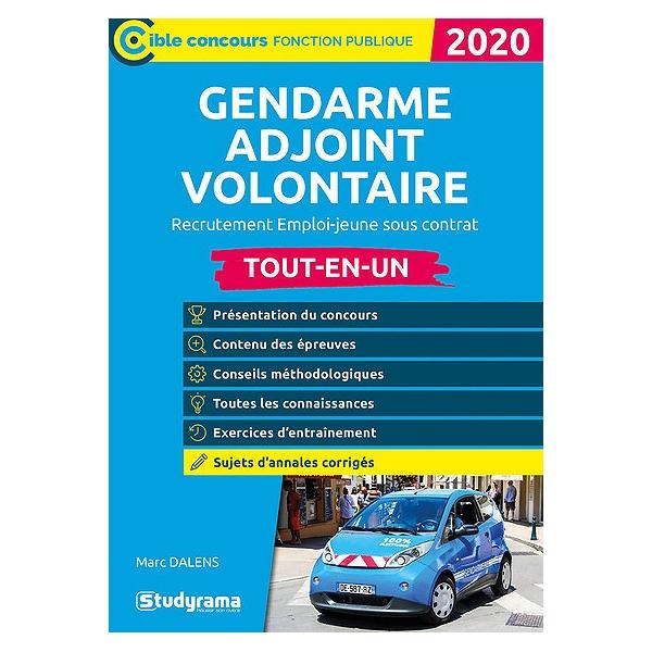 Gendarme Adjoint Volontaire Tout En Un Recrutement Emploi Jeune Sous Contrat 2020