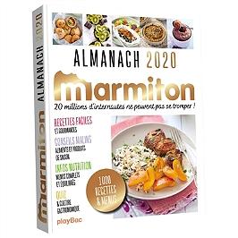 Marmiton : almanach 2020 : 100 recettes & menus