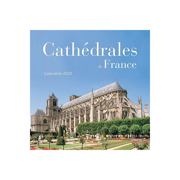 Comedie Francaise Calendrier.Cathedrales De France Calendrier 2020
