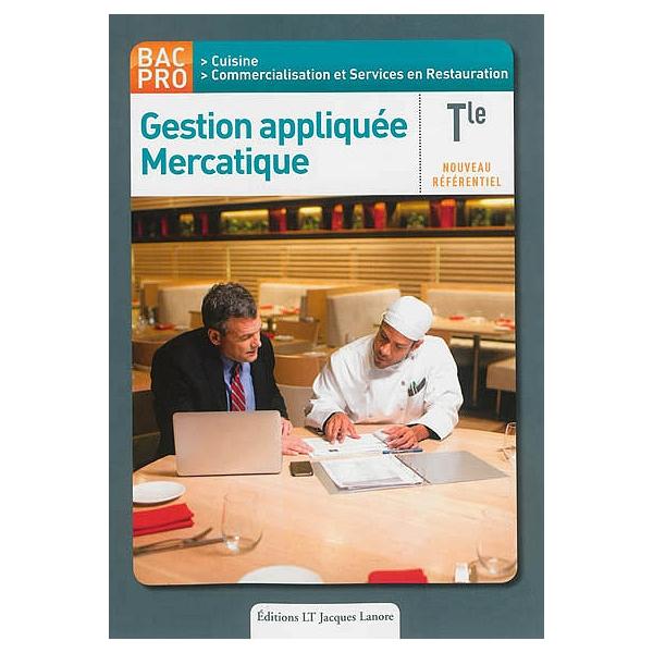 Gestion Appliquee Mercatique Terminale Bac Pro Cuisine