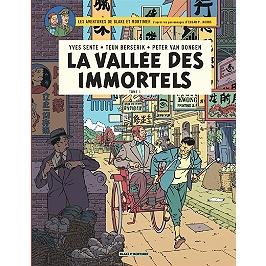 Les aventures de Blake et Mortimer : d'après les personnages d'Edgar P. Jacobs | La vallée des immortels