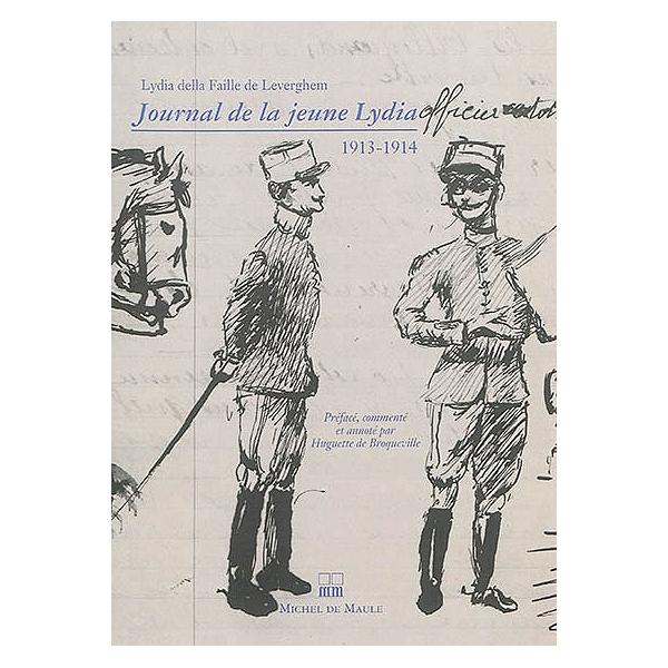 Della Leverghem1913 De Jeune 1914 Journal Lydia La Faille J5uFKcTl13