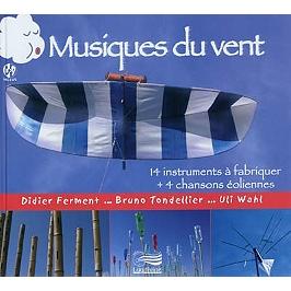 Musiques du vent : 14 instruments à fabriquer