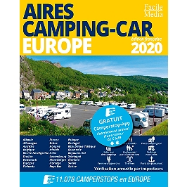 Aires camping-car : Europe 2020