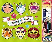 je-colorie-mes-masques-filles