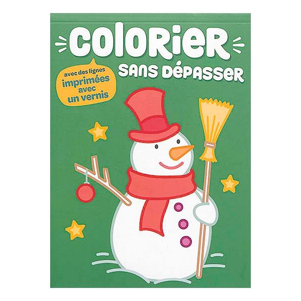 Colorier Sans Depasser Bonhomme De Neige 9789463786911