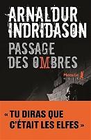 Trilogie des ombres de Arnaldur Indridason - Broché