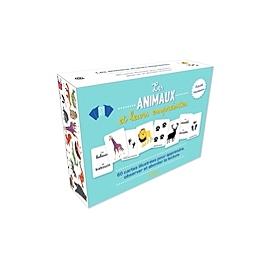 Les animaux et leurs empreintes : activité Montessori : 60 cartes illustrées pour apprendre, observer et aborder la lecture