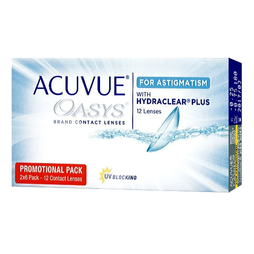 ?? Acuvue Oasys for astigmatism 12
