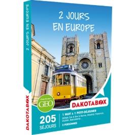 Dakotabox - 2 JOURS EN EUROPE