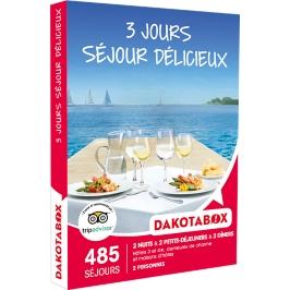Dakotabox - 3 JOURS SÉJOUR DÉLICIEUX