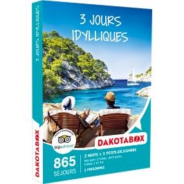 Dakotabox - 3 JOURS IDYLLIQUES