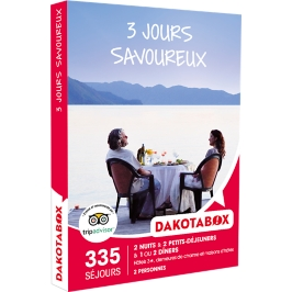 Dakotabox - 3 JOURS SAVOUREUX
