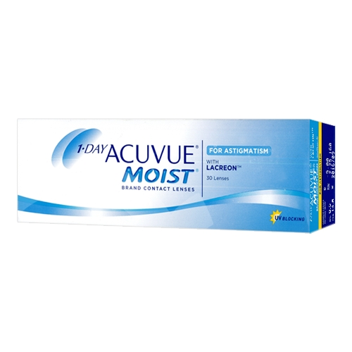 Lentilles 1 day acuvue moist for astigmatism ?? 1 Day Acuvue Moist 30 for Astigmatism