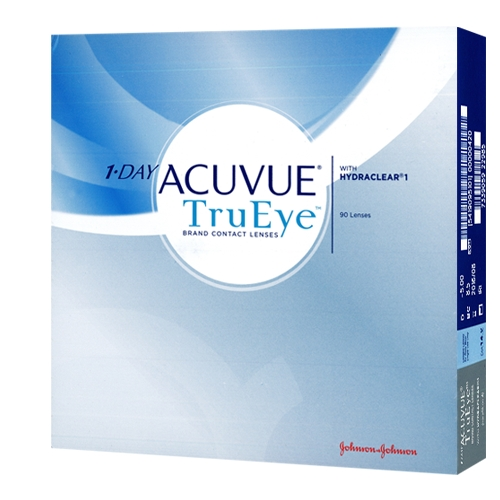 Lentille-de-contact-1-day-trueye-90-johnson-johnson-90-lentilles