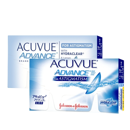 Lentilles Acuvue Advance for Astigmatism ?? Acuvue Advance for Astigmatism