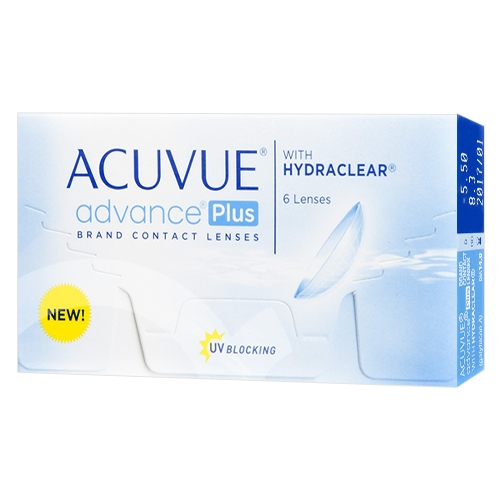 lentilles Acuvue Advance Plus with Hydraclear ?? Acuvue Advance Plus with Hydraclear