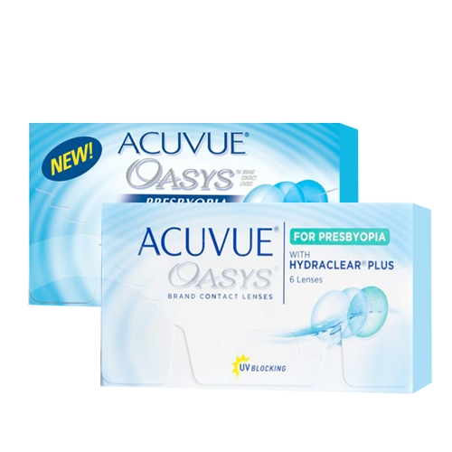 Acuvue Oasys for Presbyopia  with Hydraclear Plus ?? Acuvue Oasys for Presbyopia  with Hydraclear Plus