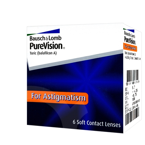 Lentilles PureVision Toric ?? PureVision Toric