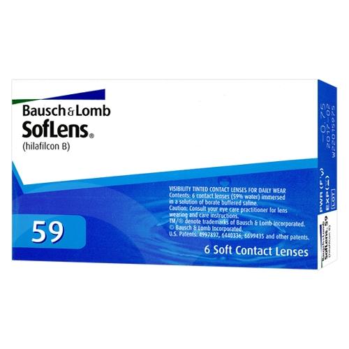 Lentilles SofLens 59 ?? SofLens 59 (SofLens Comfort)