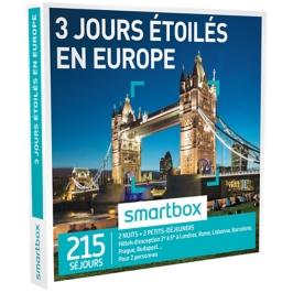 Smartbox - 3 jours étoilés en Europe
