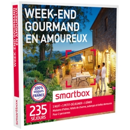 Smartbox - Week-end gourmand en amoureux