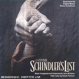 Schindler's List (Bof), CD