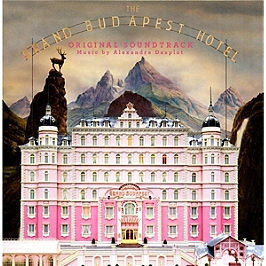 The grand Budapest hotel, CD