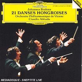 21 danses hongroises, CD